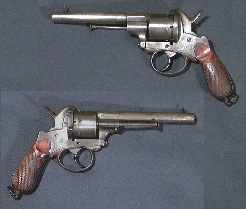 9mm belgian Pinfire Revolver