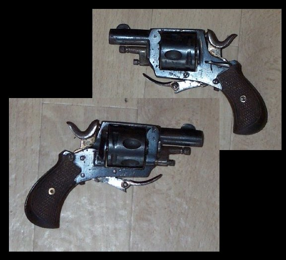 Belgian Bulldog Revolver cal 320 CF with safety catch