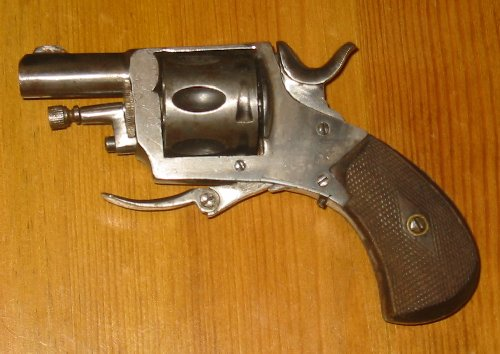 British Bulldog Revolver belgian made cal 320 CP