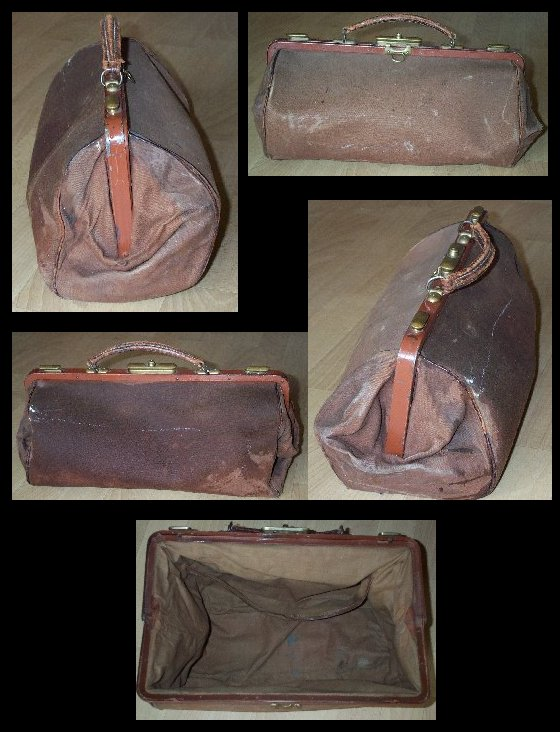 Large Shell Doctor's Bag